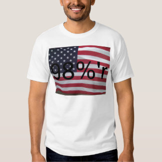 Support the occupation by showing it! tee shirt
