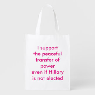 Support the Peaceful Transfer of Power Market Tote