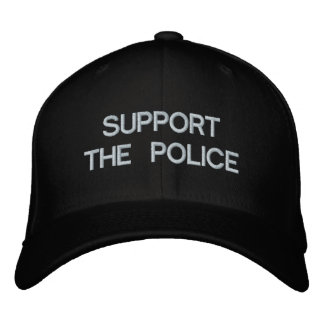 SUPPORT THE POLICE BASEBALL CAP by eZaZZleMan com