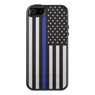 Support the Police Thin Blue Line American OtterBox iPhone 5/5s/SE Case