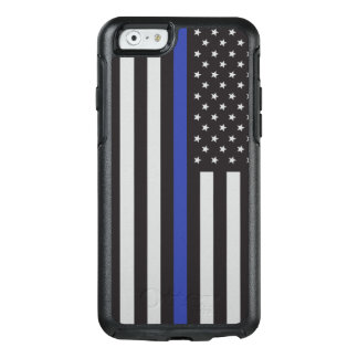 Support the Police Thin Blue Line American OtterBox iPhone 6/6s Case