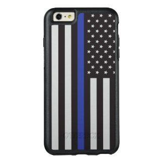 Support the Police Thin Blue Line American OtterBox iPhone 6/6s Plus Case
