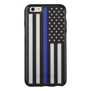 super popular 3693c 914d7 Support the Police Thin Blue Line American OtterBox iPhone 6/6s Plus Case
