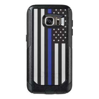 Support the Police Thin Blue Line American OtterBox Samsung Galaxy S7 Case