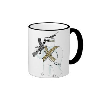 Support the Right to Arm Bears Ringer Coffee Mug