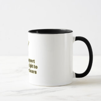 Support the right to arm bears mug