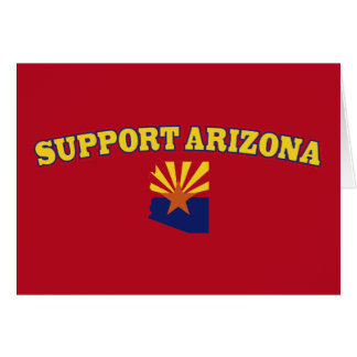 Support the State of Arizona Card