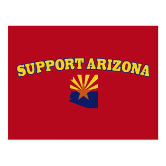 Support the State of Arizona Postcard