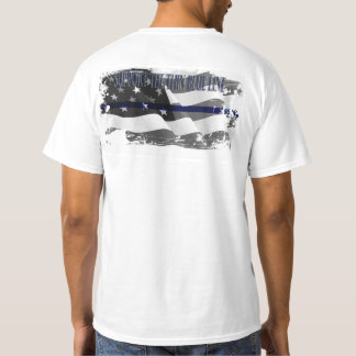 SUPPORT THE THIN BLUE LINE MEN'S T-SHIRT