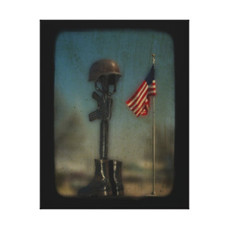 Support The Troops Canvas Print