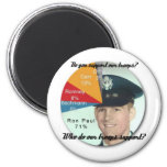Support the Troops! Fridge Magnet