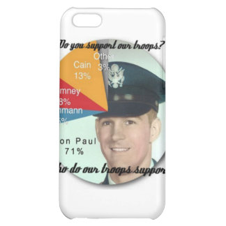 Support the Troops! Cover For iPhone 5C