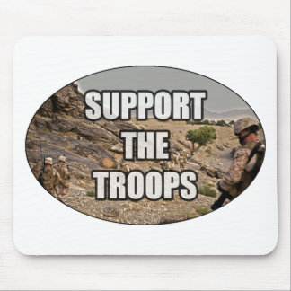 Support the Troops Mouse Pad