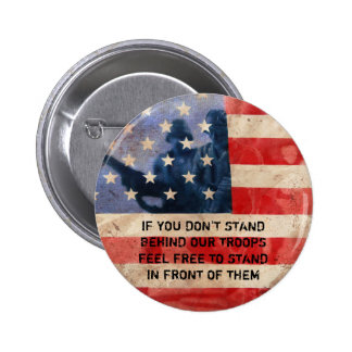 Support the Troops Pinback Button