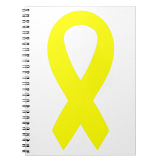 Support the Troops Ribbon Spiral Notebook