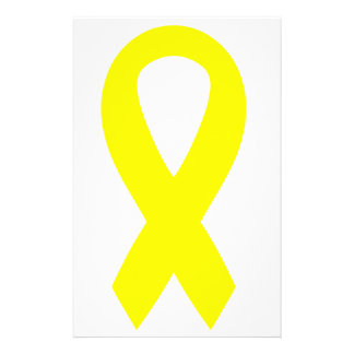 Support the Troops Ribbon Stationery Paper
