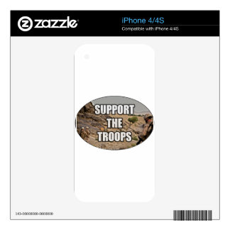 Support the Troops Skins For The iPhone 4