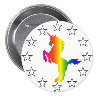 Support the Unicorn Party: Unicorns for Congress Button