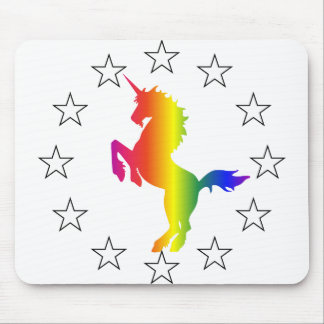 Support the Unicorn Party: Unicorns for Congress Mouse Pad