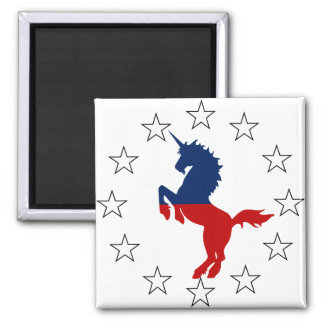 Support the Unicorn Party: Unicorns for President Magnet