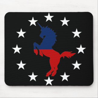 Support the Unicorn Party: Unicorns for President Mouse Pad
