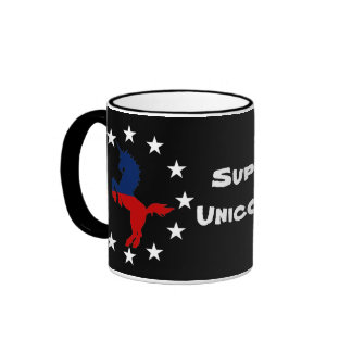Support the Unicorn Party: Unicorns for President Coffee Mugs