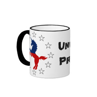 Support the Unicorn Party: Unicorns for President Mugs