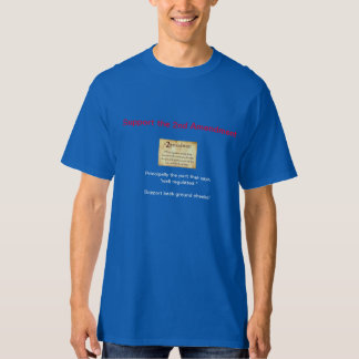Support the whole of the 2nd amendment t shirt