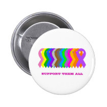 Support them all pinback button