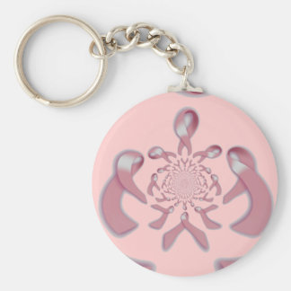 """Support to Infinity"" [1] Breast Cancer Awareness Keychain"
