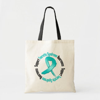 Support Tourette Syndrome Awareness Canvas Bag