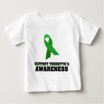 Support Tourette's Syndrome Awareness Baby T-Shirt