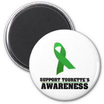 Support Tourette's Syndrome Awareness Magnet