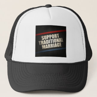 Support Traditional Marriage Trucker Hat