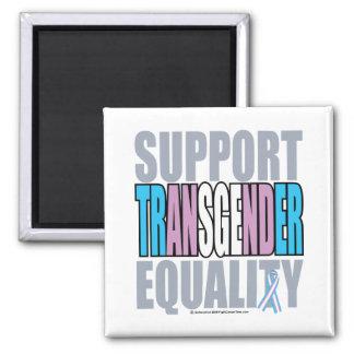 Support Transgender Equality 2 Inch Square Magnet