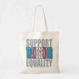 Support Transgender Equality Budget Tote Bag