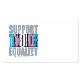 Support Transgender Equality Business Card