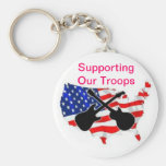 support troops keychains