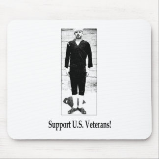Support U.S. Veterans Mouse Pad