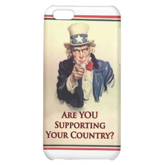 Support Uncle Sam Poster iPhone 5C Cover