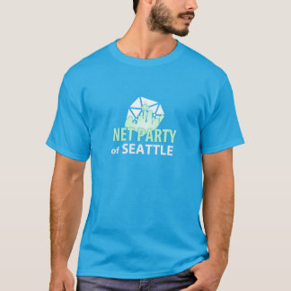 Support Upgrading Democracy with the Net Party T-Shirt