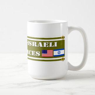 Support US-Israeli Defense Forces Classic White Coffee Mug