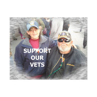 Support Vets Canvas Print