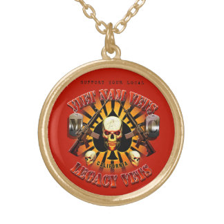 Support Viet Nam / Legacy Vets MC Necklace - Red