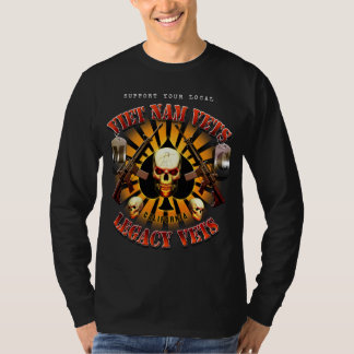 Support Viet Nam/Legacy Vets MC with Skull Shirt