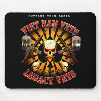 Support Viet Nam / Legacy Vets Mouse Pad