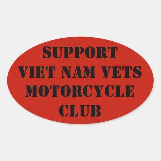 Support Viet Nam Vets Motorcycle Club Sticker