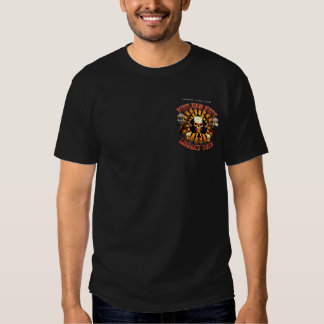 Support Viet Nam Vets with Skull and M4s T Shirt