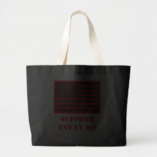 Support Vietnam/Legacy Vets MC with Flag Bag