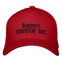 Support VNV/LV MC Red and Black Cap